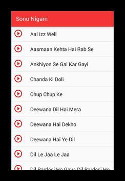 Sonu Nigam Top Best Hits Song screenshot 1