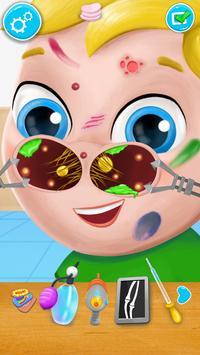 Nose Doctor Fun Kids Game apk screenshot