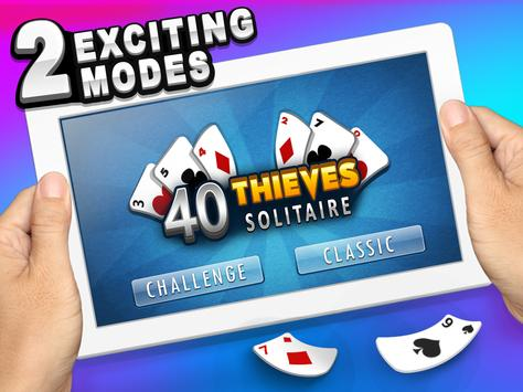 Forty Thieves Solitaire screenshot 12