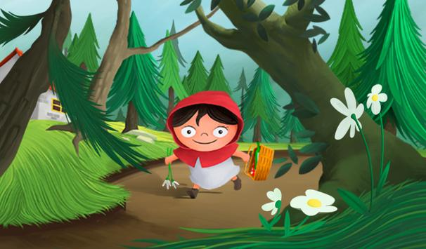 Little Red Riding Hood eBook apk screenshot