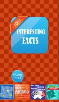 Interesting Facts 1001 Facts poster