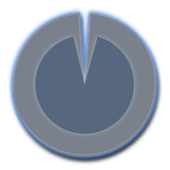 Polarizer Analog Clock: Blue icon
