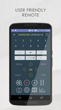 Remote for Samsung TV Lite screenshot 1