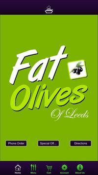 Fat Olives Leeds poster