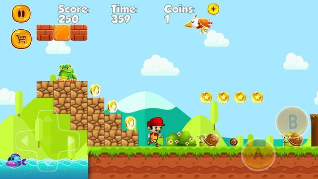 Super Marco World Run apk screenshot