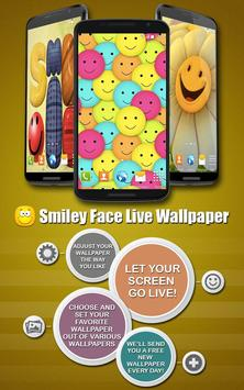 Smiley Face Live Wallpaper poster