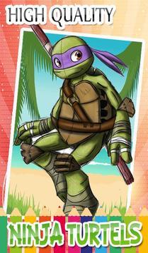 Turtles Coloring Pages for Mutant ninja hero screenshot 5