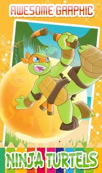 Turtles Coloring Pages for Mutant ninja hero screenshot 8