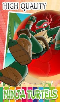 Turtles Coloring Pages for Mutant ninja hero screenshot 16