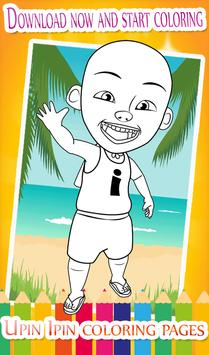 10 Coloring Pages For Upin And Ros His Friends Screenshot