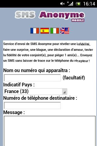 Sms Anónimo For Android Apk Download