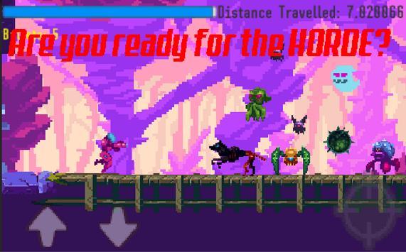 Mythroid Zamus Run: Infamous  Alien Galaxy Bandit screenshot 1