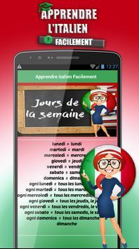 Apprendre l'italien Facilement apk screenshot