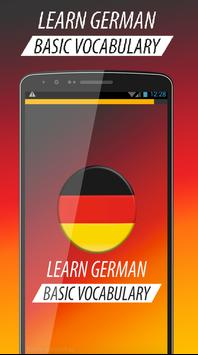 Learn Basic German Vocabulary poster