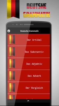 Deutsche Grammatik Lernen apk screenshot