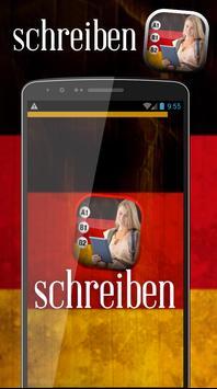 Schreiben lernen deutsch poster