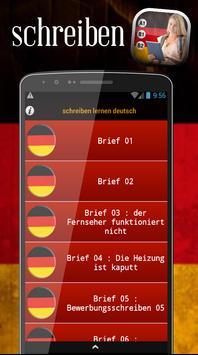 Schreiben lernen deutsch apk screenshot