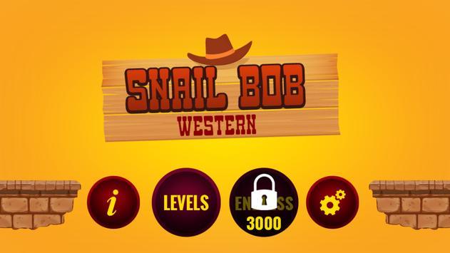 SnailBob Western poster