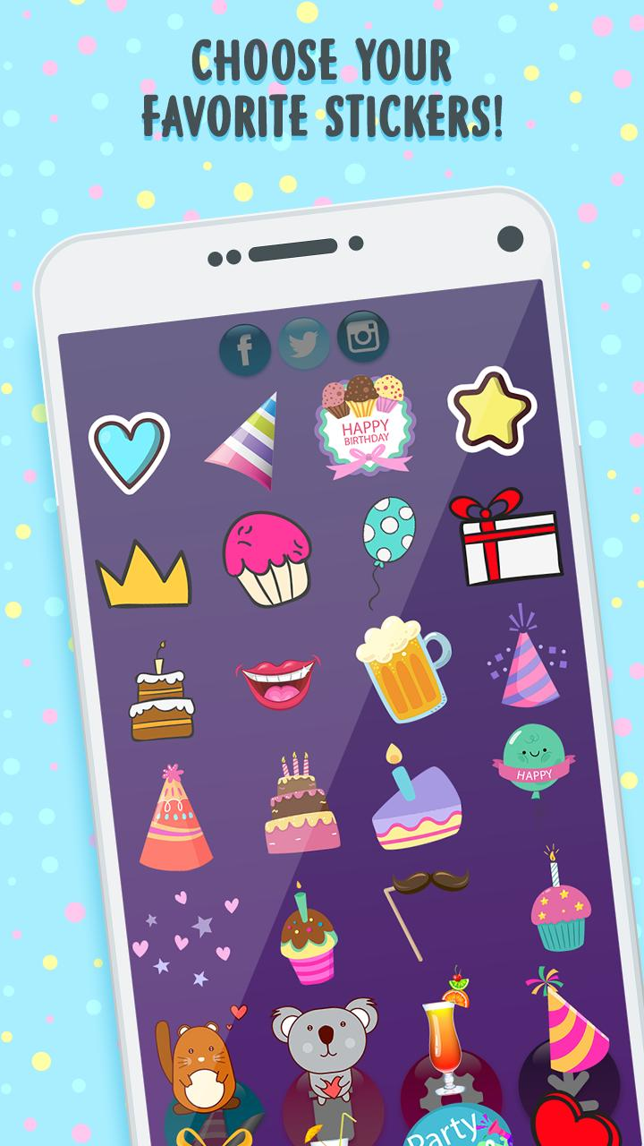 Snap Birthday Filters and Effects for Android - APK Download