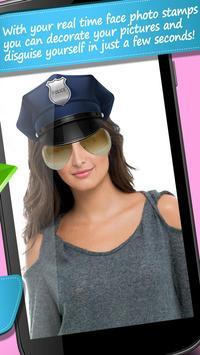 Funny Face Camera Stickers apk screenshot