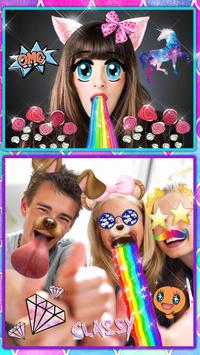 Snappy Photo Editor Stickers - Filters for Selfies apk screenshot