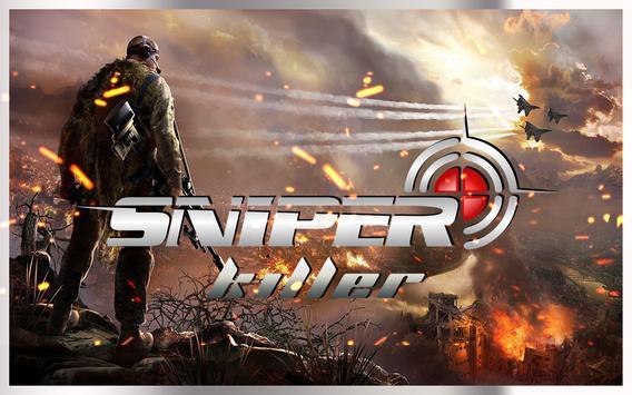 Sniper Fury Assassin 3D Shooting Gun Killer Games screenshot 2