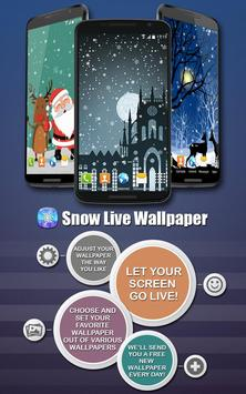 Snow Live Wallpaper poster