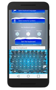 ❆Snow Keyboard ❆ apk screenshot