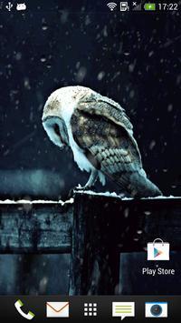 Snowfall Live Wallpaper poster