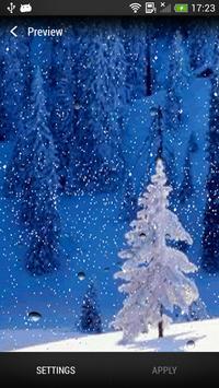 Snowfall Live Wallpaper apk screenshot