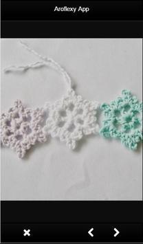 Crochet Snowflake Ideas apk screenshot