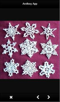 Crochet Snowflake Ideas poster