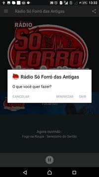 Rádio Só Forró das Antigas apk screenshot