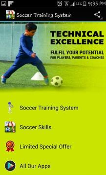 Soccer Training System poster