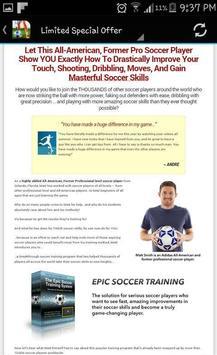 Soccer Training System apk screenshot