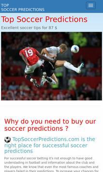 Soccer Predictions poster