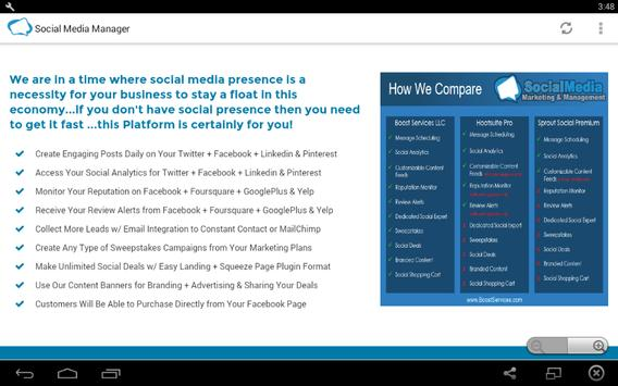 Social media manager software apk download free business app for social media manager software apk screenshot malvernweather Images