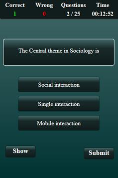 Sociology Quiz screenshot 10