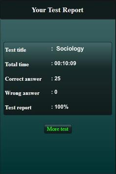 Sociology Quiz screenshot 5
