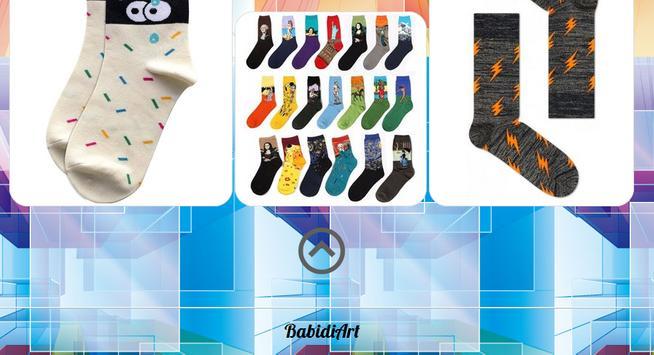 Socks design apk screenshot