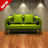 The latest minimalist sofa design icon