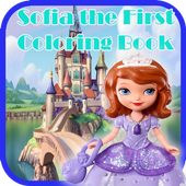 Sofia Princess Coloring Book icon