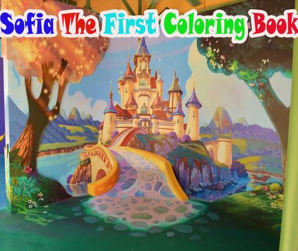 Sofia Princess Coloring Book poster