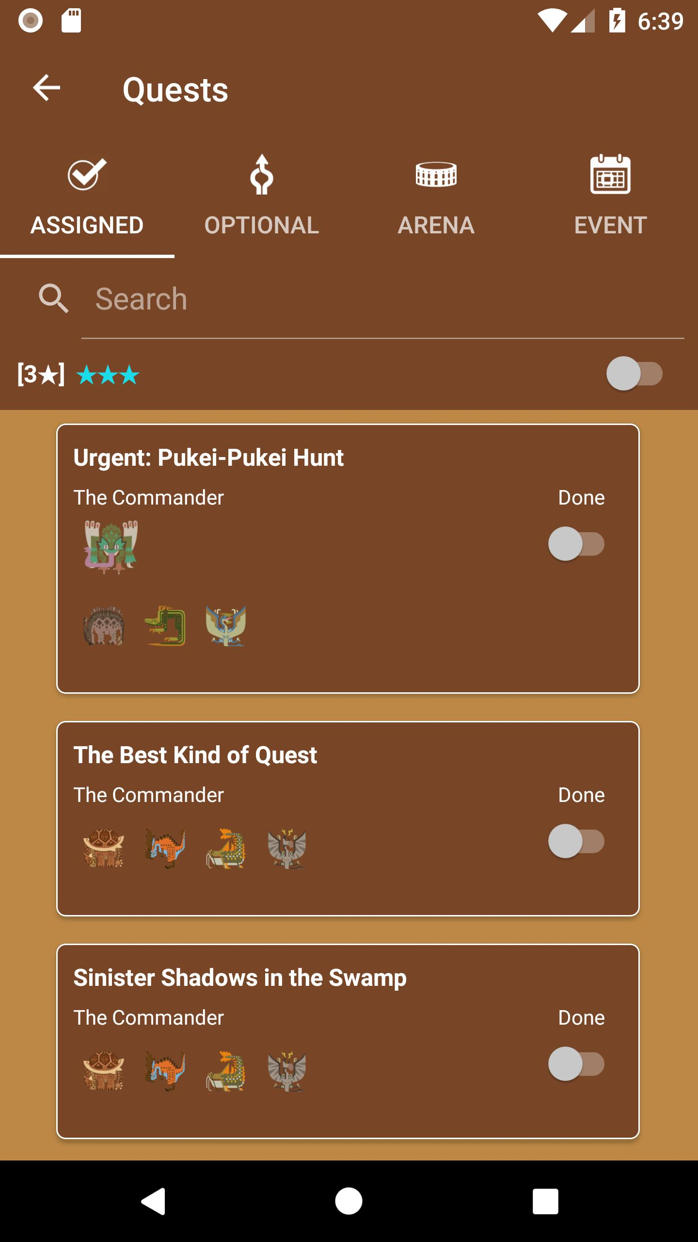 MHW Companion Guide for Android - APK Download