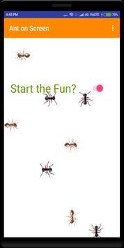(No Ads) Ants on Phone Screen Real Fun screenshot 1