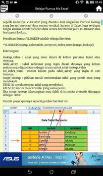 Kumpulan Rumus Ms Excel Lengkap screenshot 16