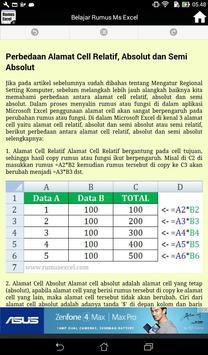 Kumpulan Rumus Ms Excel Lengkap screenshot 4