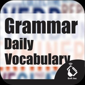 Grammar dan Vocabulary sehari hari poster