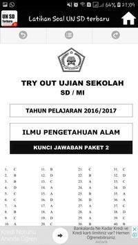 Latihan Soal Ujian Nasional SD terbaru apk screenshot