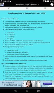 Rangkuman Semua Mata Pelajaran Kelas 9 SMP / MTS screenshot 15